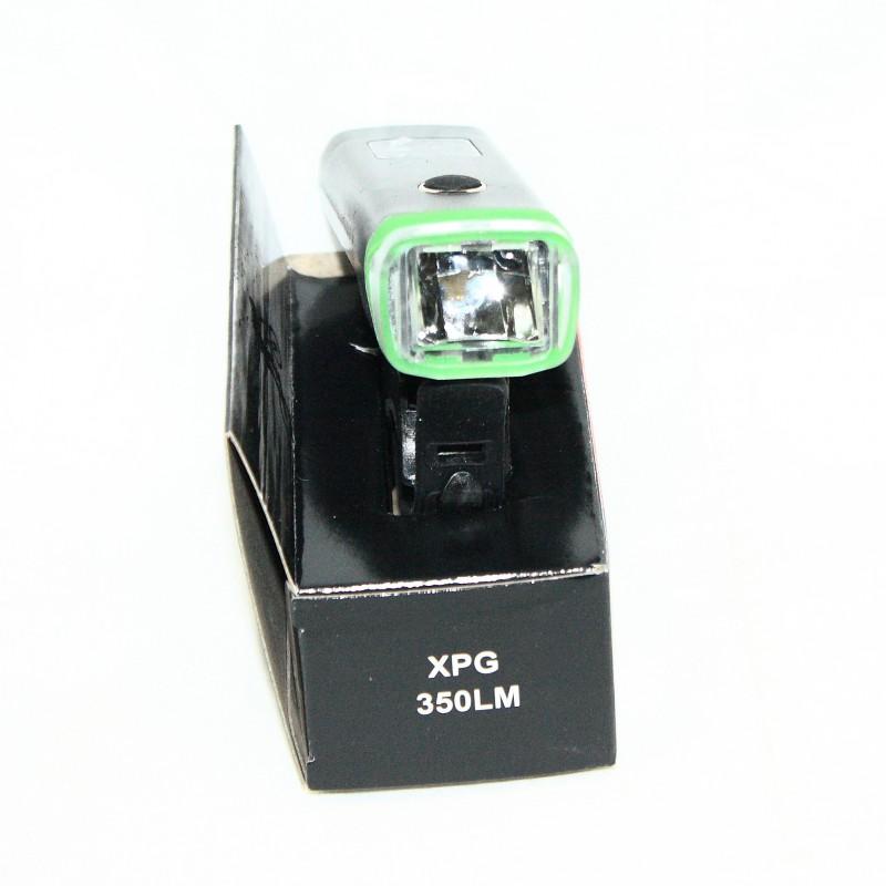 Фара с зарядкой под USB  c сигналом , модель HJ-047В (SA-16) ,черный