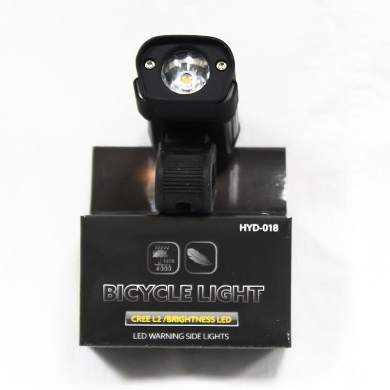Фара с зарядкой под USB  , модель HYD-018L2 (SA-10) , черный