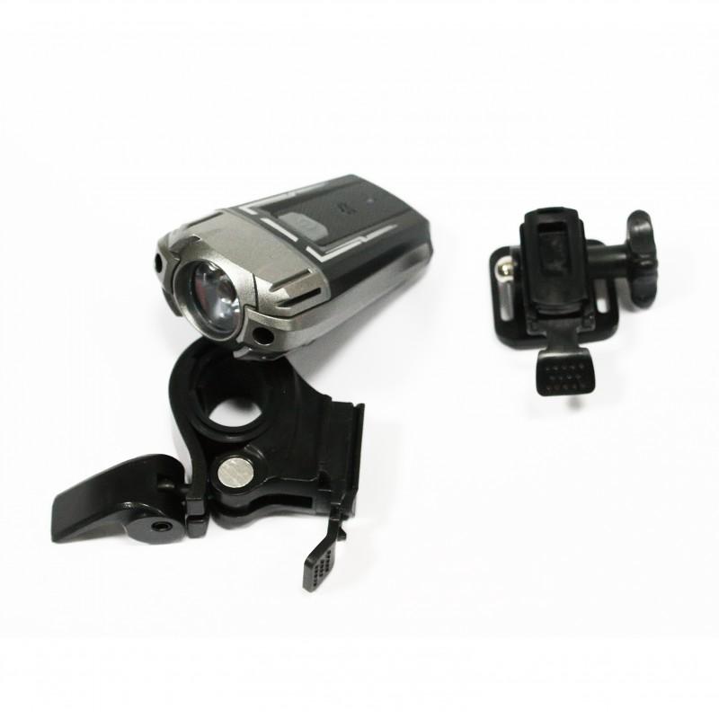 Фара с зарядкой под USB ,модель HJ-049 (GA-18) , черный