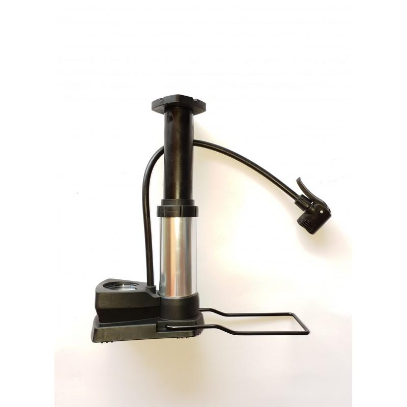 Насос алюминиевый ножной с монометром